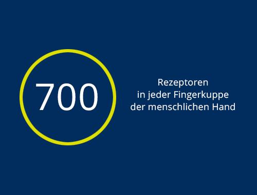 700 Rezeptoren…